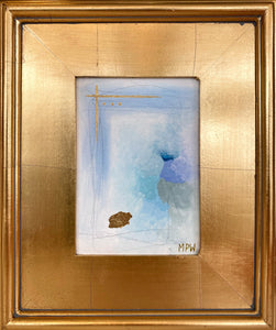 """II"" Gold Leaf Framed"