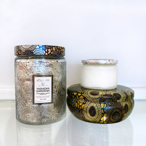 Voluspa Large Jar + 3-Wick Tin + Petite Jar