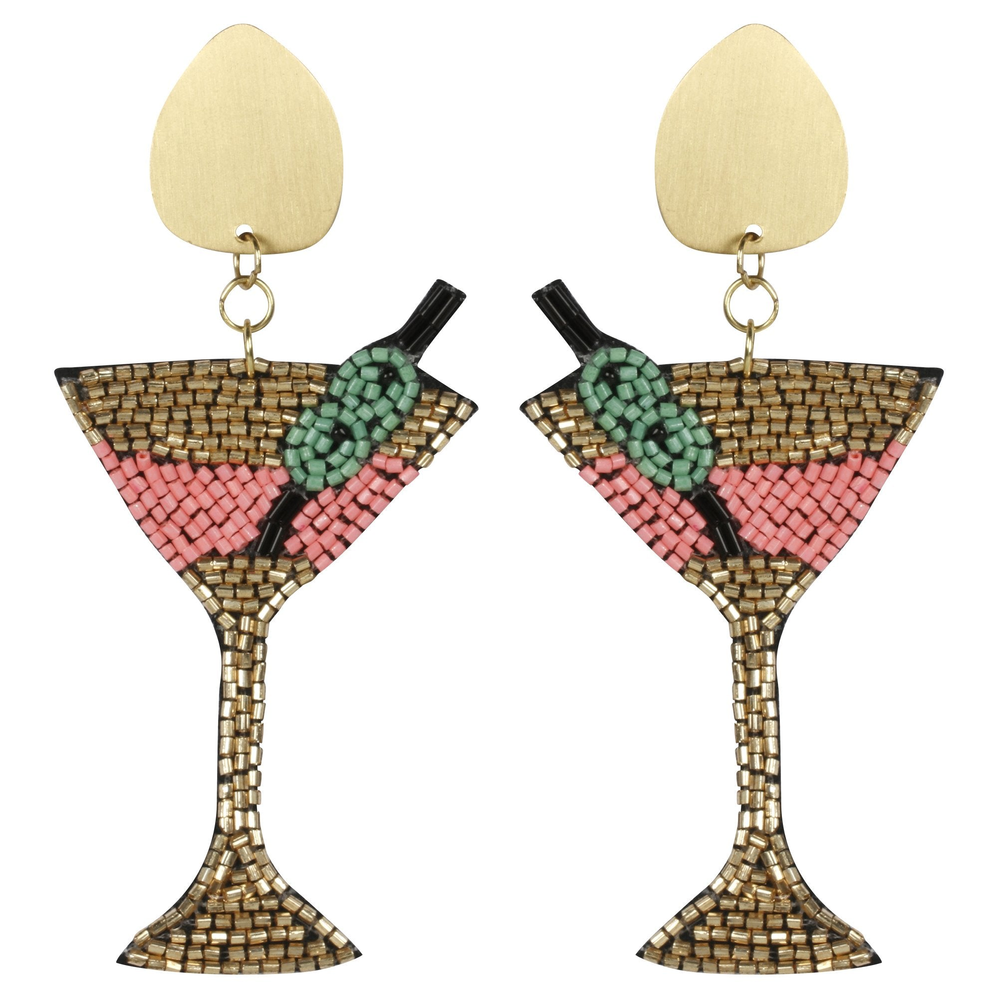 Martini II Earrings