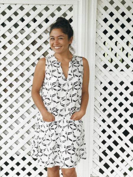 MAIKO Shift Dress Wahinehi'u'i'a
