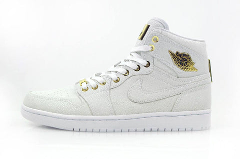 Jordan 1 Pinnacle White