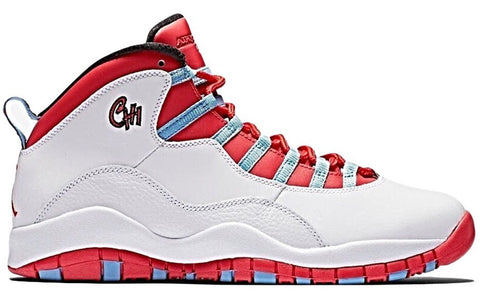 Jordan 10 Chicago Flag