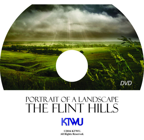 PORTRAIT OF A LANDSCAPE, THE FLINT HILLS DVD