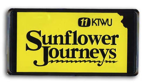 Sunflower Journeys License Plate