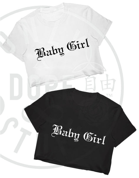 Baby Girl Crop Top