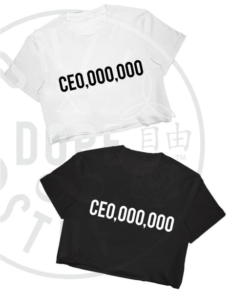 CEO,000,00 Crop Top