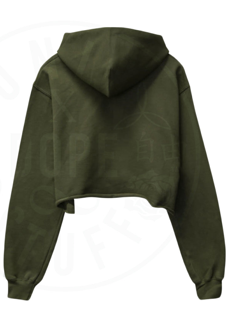 Saucy Cropped Hoodie