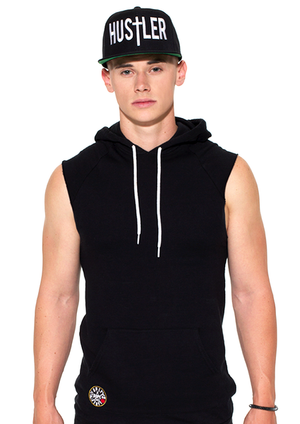 Cut Off Muscle Sweatshirt