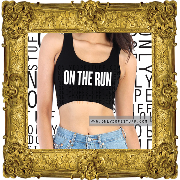 The On The Run Crop Top
