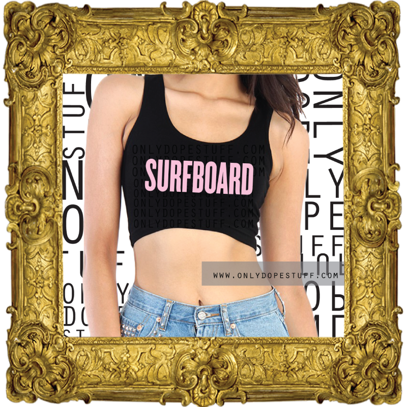 The Surfboard Crop Top
