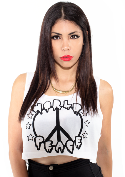 World Peace Crop Tank