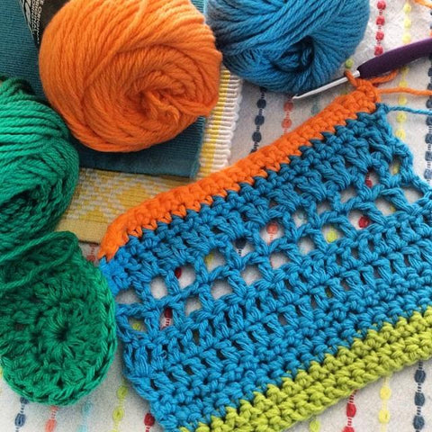 Crochet/Knitting class at our Bulimba Studio Saturday 26th May