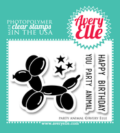 Avery Elle Party Animal Stamp Set