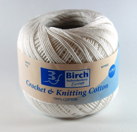 Birch Crochet Cotton
