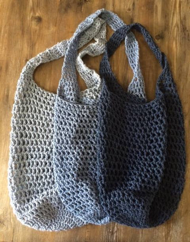 Cotton shopping tote