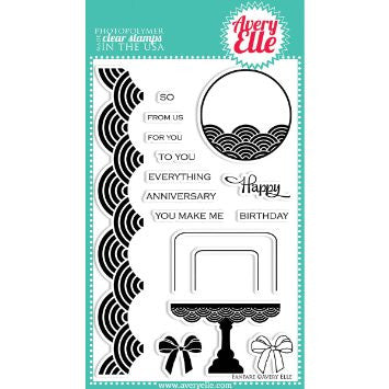 Avery Elle Fanfare Stamp Set