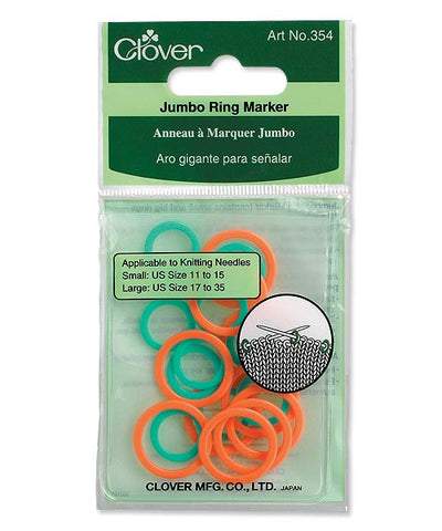 Clover Jumbo Ring Stitch Markers