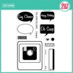 Avery Elle Picture It Stamp Set