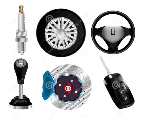 Car parts and other equipment