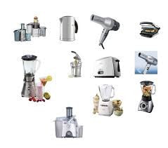 Home appliances, accessories and garden equipment