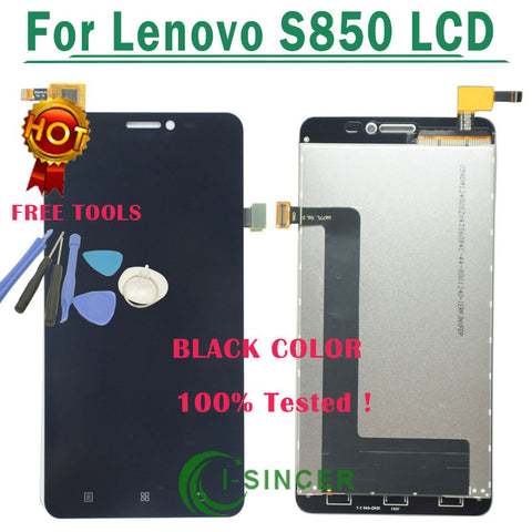 Lenovo S850 LCD Dispej + Touch screen