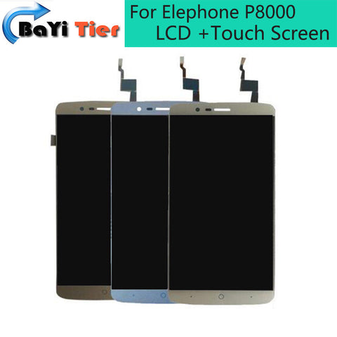 Elephone P8000 LCD Displej + Touch Screen digitizer
