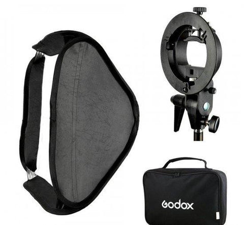 Godox Softbox 80x80 + S-type nosac