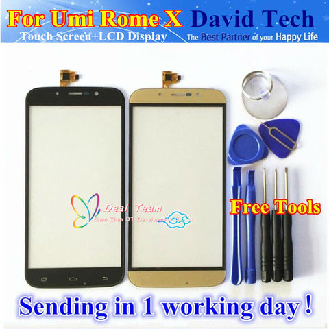 Umi Rome X Touch Screen Panel Digitizer