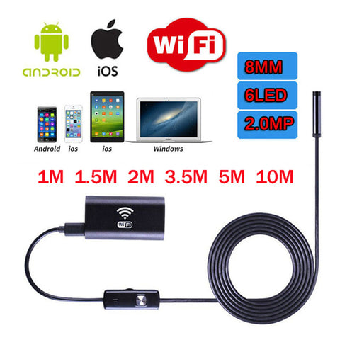 USB WIFI endoskopska kamera HD720P