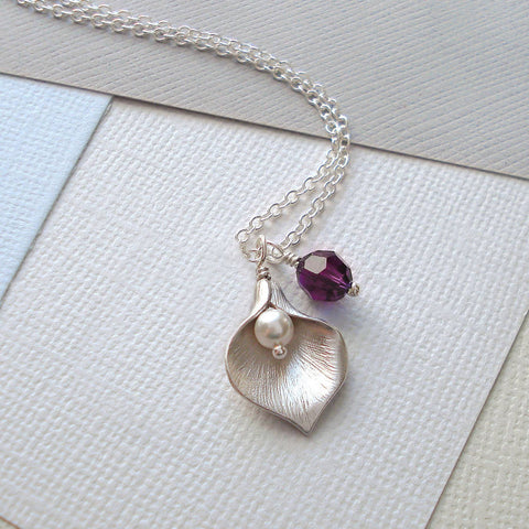 Calla Lily Necklace