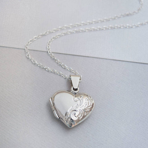 Sterling Silver Classic Heart Locket