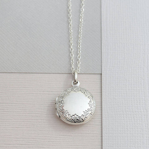 Sterling Silver Classic Round Locket