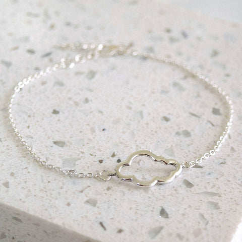 Sterling Silver Cloud Bracelet - Mia Belle Jewellery
