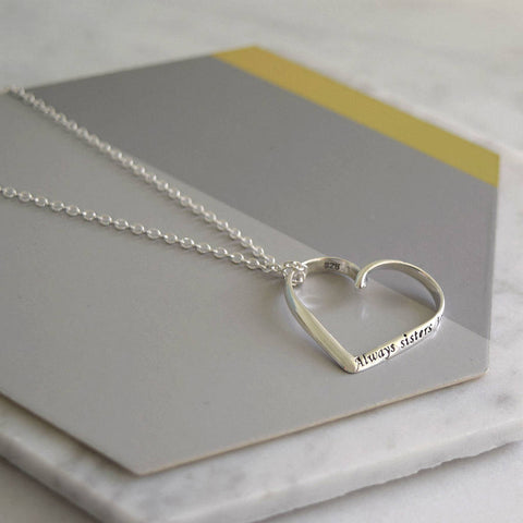Sterling Silver Sisters Necklace - Mia Belle Jewellery