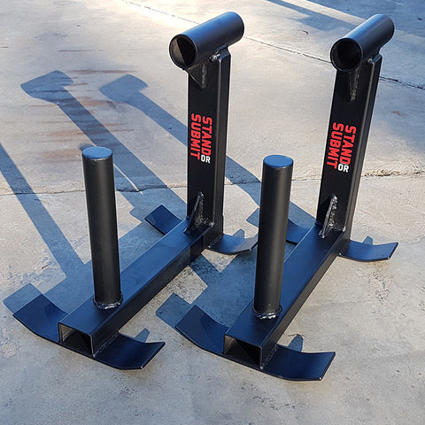 Silver Dollar Deadlift Simulators