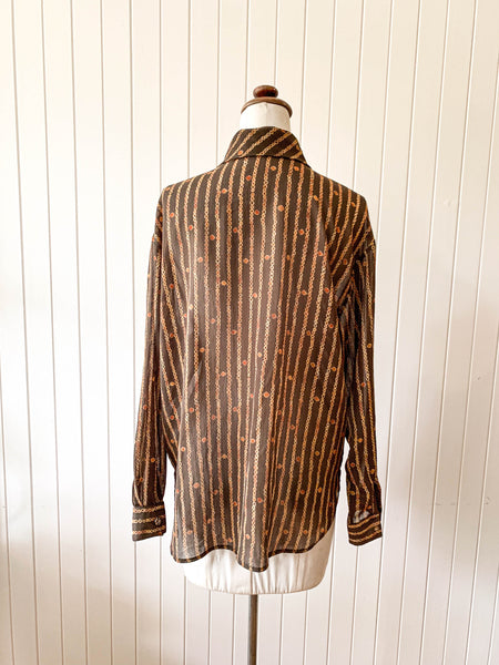 Vintage 1960s button up shirt