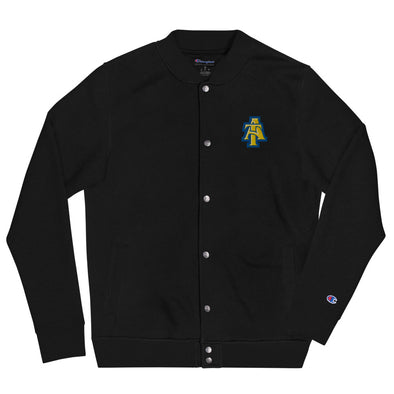 North Carolina A&T Embroidered Champion Bomber Jacket
