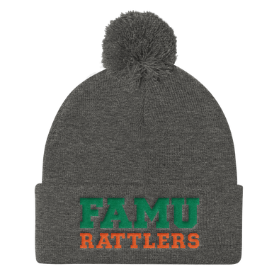 Florida A&M University Pom-pom Knit Cap