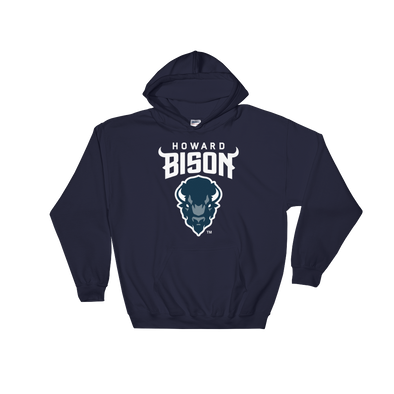 Howard University Bison Logo Pullover Hoodie