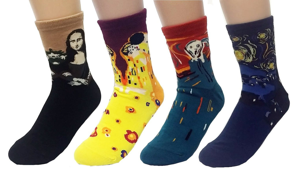 Art Masterpiece Painting Collection Socks Set