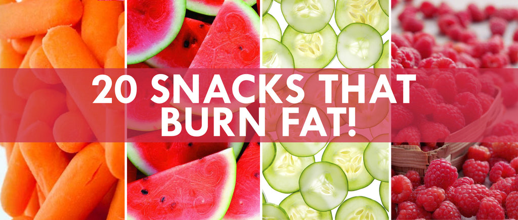 20 Snacks That Burn Fat!