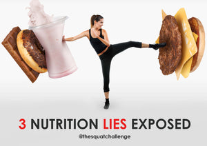3 Nutrition Lies Exposed