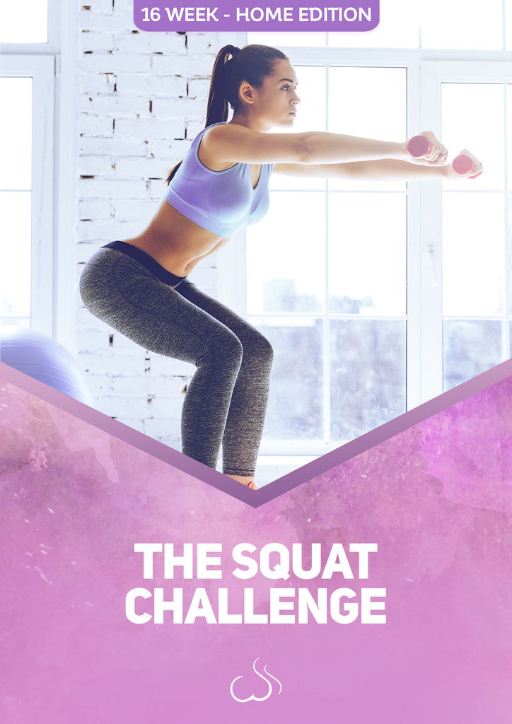 THE SQUAT CHALLENGE 16 weeks - Home edition 2.1