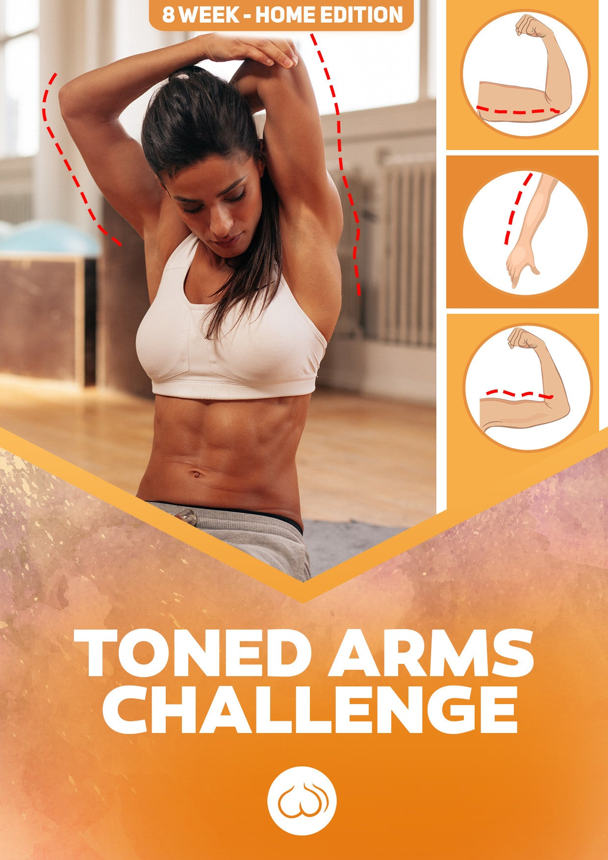 Toned Arms Challenge - Home Edition