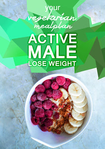 Vegetarian Active Male - Lose Weight