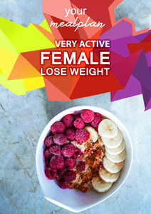 Very Active Female - Lose Weight