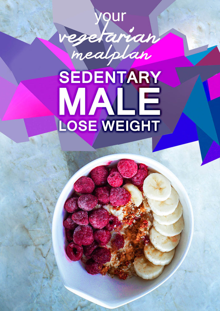 Vegetarian Sedentary Male - Lose Weight