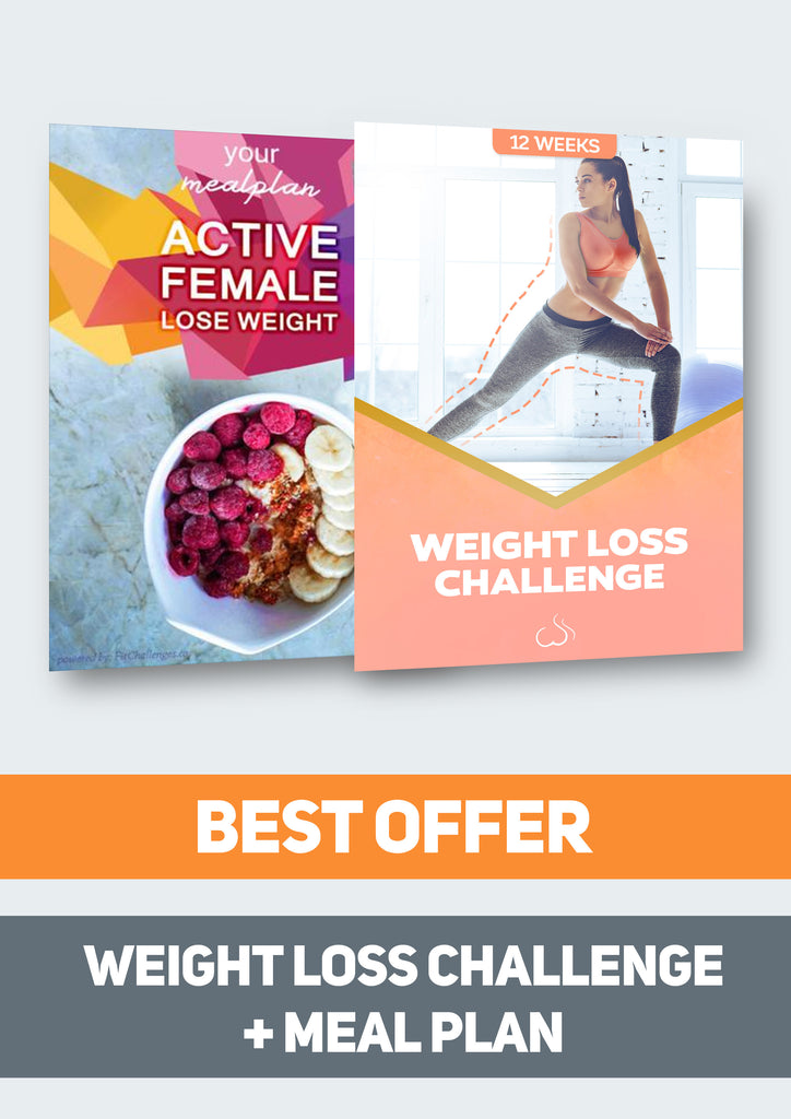 meal plan weight loss challenge bundle