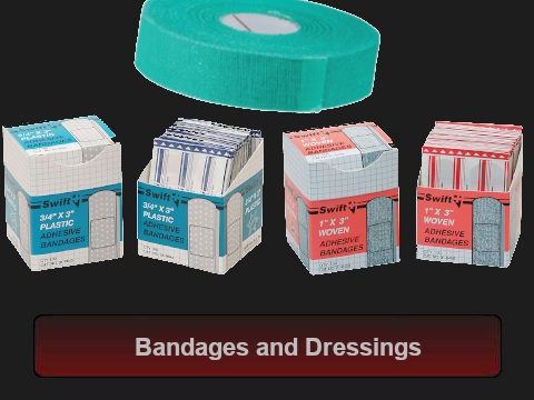 Bandages and Dressings