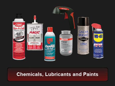 Chemicals, Lubricants and Paints